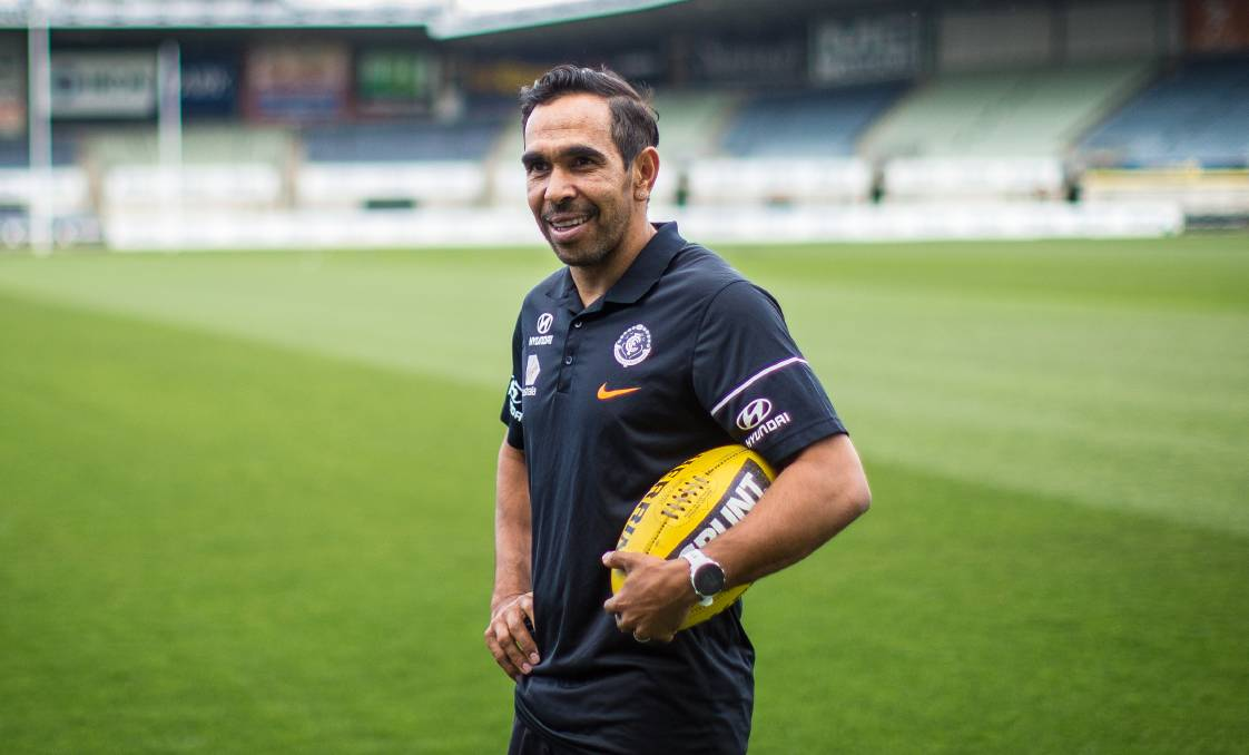 FROM IKON PARK TO WHOROULY: Fresh off a new AFL deal, Eddie Betts will make an appearance in the North East. Picture: SCOTT MCNAUGHTON