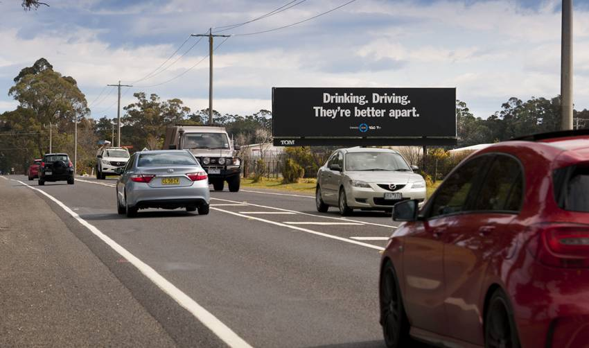 MASSIVE SIGNAGE: An example of a Total Outdoor Media billboard in Orbost.