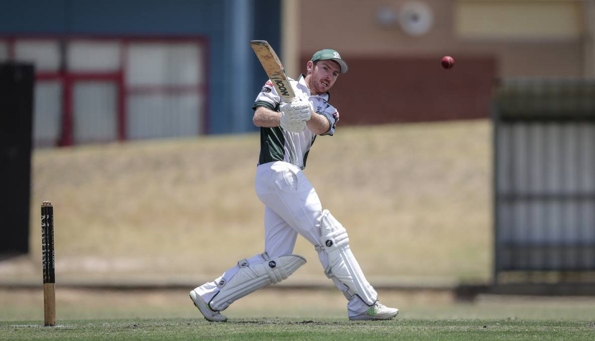 IN THE ZONE: St Patrick's batsmen Matt Crawshaw has found good form with the bat this season having made over 200 runs for his side so far.