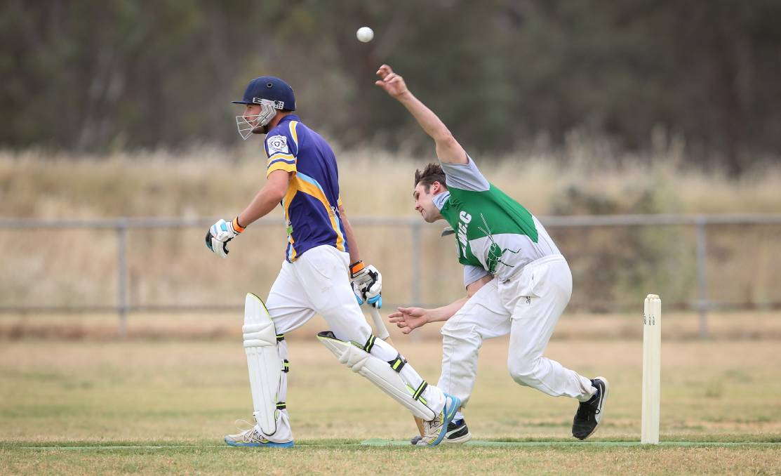 Tom Simmons is enjoying another strong season for Walla. He is part of an in-form bowling attack.