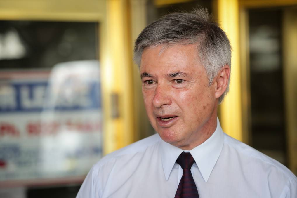 Time to retire: Greg Aplin has decided he will not contest what would have been his fifth election as the Liberal candidate for Albury.