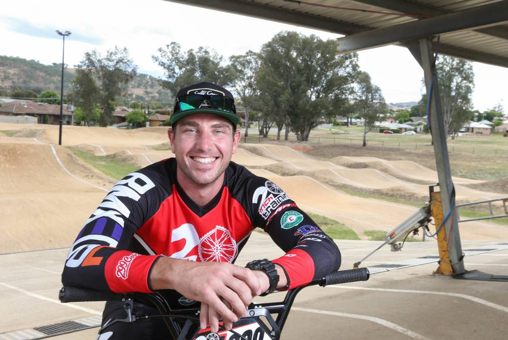 A LONG JOURNEY: Adam Carey took up BMX riding in the 1990s and will reach the sport's pinnacle as a coach in Tokyo. Picture: TARA TREWHELLA
