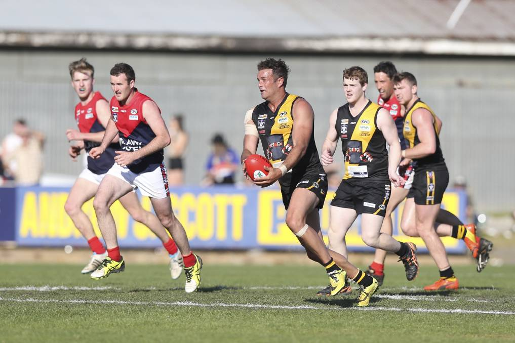Karl Norman has been a star with Glenrowan (pictured) and Wangaratta Rovers and he'll play for Tarrawingee next year.