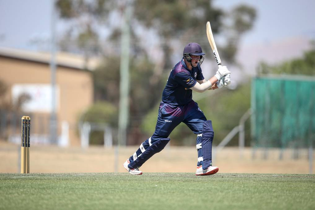 Coby Fitzsimmins maintained his superb form, scoring 80 against Wodonga after hitting a ton and two half-centuries at all levels in recent weeks.