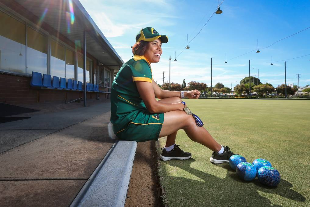 RECOGNITION: Wodonga bowler Kylie Whitehead has been named as an Emerging Jackaroo and will work closely with national coaches this year.