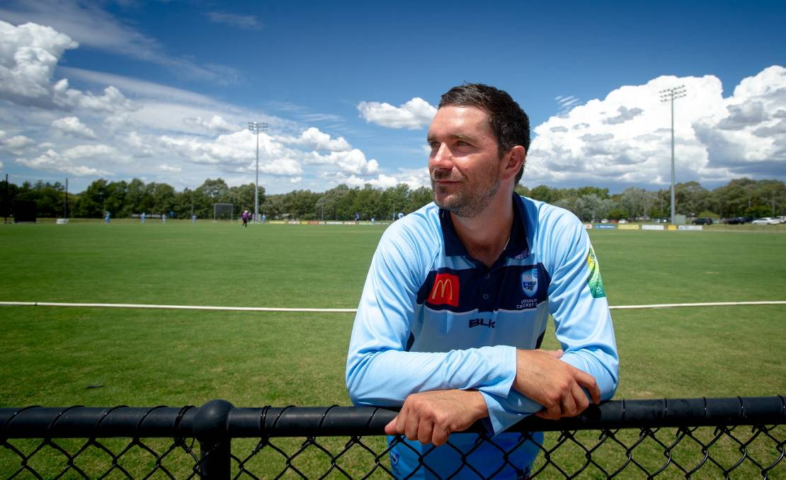 TOUGH BREAK: Lavington's Ryan Brown grabbed a five-wicket haul for NSW Country in Canberra this week before an injury ruled him out of the carnival. Picture: ELESA KURTZ - THE CANBERRA TIMES/ACM