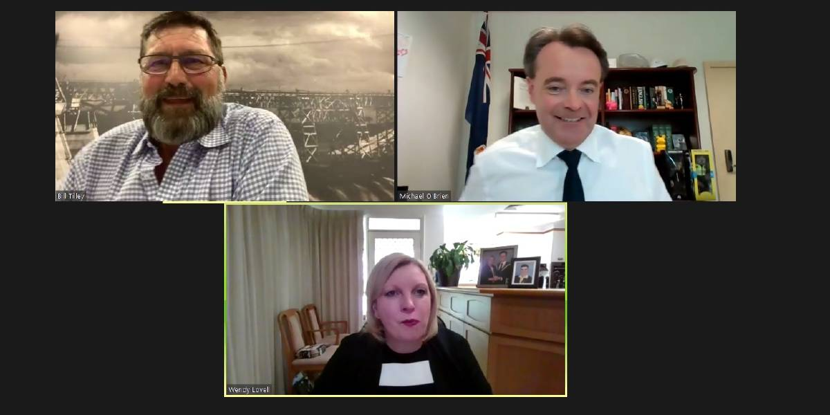 ONLINE: The Benambra Listening Tour saw more than 20 locals from the electorate tune in and ask questions of opposition leader Michael O'Brien. Bill Tilley hosted the Q&A with Northern Victoria MP Wendy Lovell also present.
