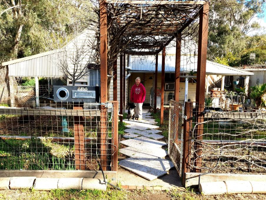 GUTTED: Julie Pearn is facing a $100,000 clean up bill after squatters destroyed her Deniliquin home.