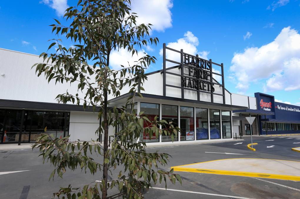 OPEN CONFIRMED: Harris Farm Markets will open its Albury supermarket on Friday in the former Bunnings Warehouse building on Young Street. Picture: JAMES WILTSHIRE