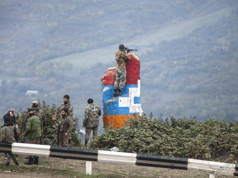 Armenia and Azerbaijan have accused each other of attacks near Nagorno-Karabakh.