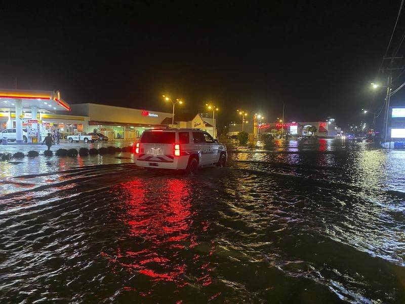 North Carolina is bracing for storm surges and heavy rain from tropical storm Isaias.