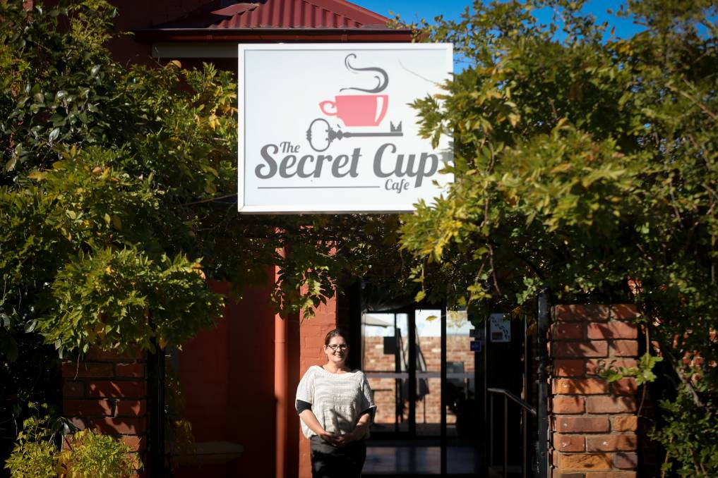 CONCERN: Secret Cup owner Jane Keats said she does not know how the business will get through another block of stage 3 restrictions that will begin in regional Victoria from Thursday. Picture: JAMES WILTSHIRE